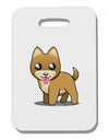 Kawaii Standing Puppy Thick Plastic Luggage Tag