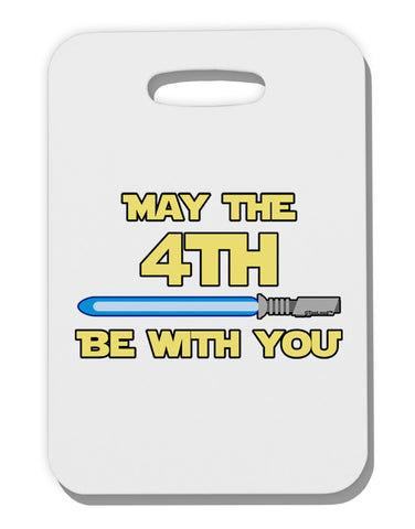 4th Be With You Beam Sword 2 Thick Plastic Luggage Tag