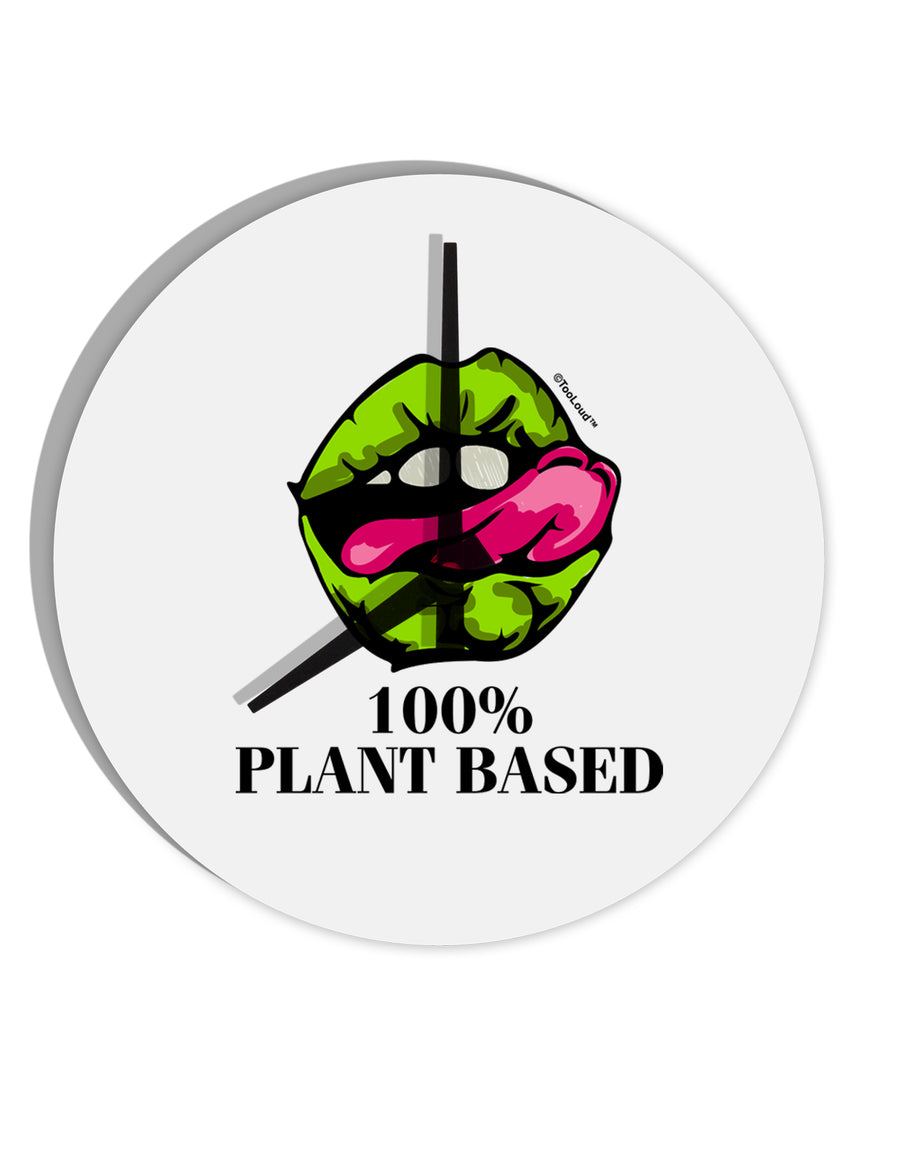 TooLoud Plant Based 8 Inch Round Wall Clock