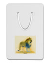 Lion Watercolor 1 Aluminum Paper Clip Bookmark
