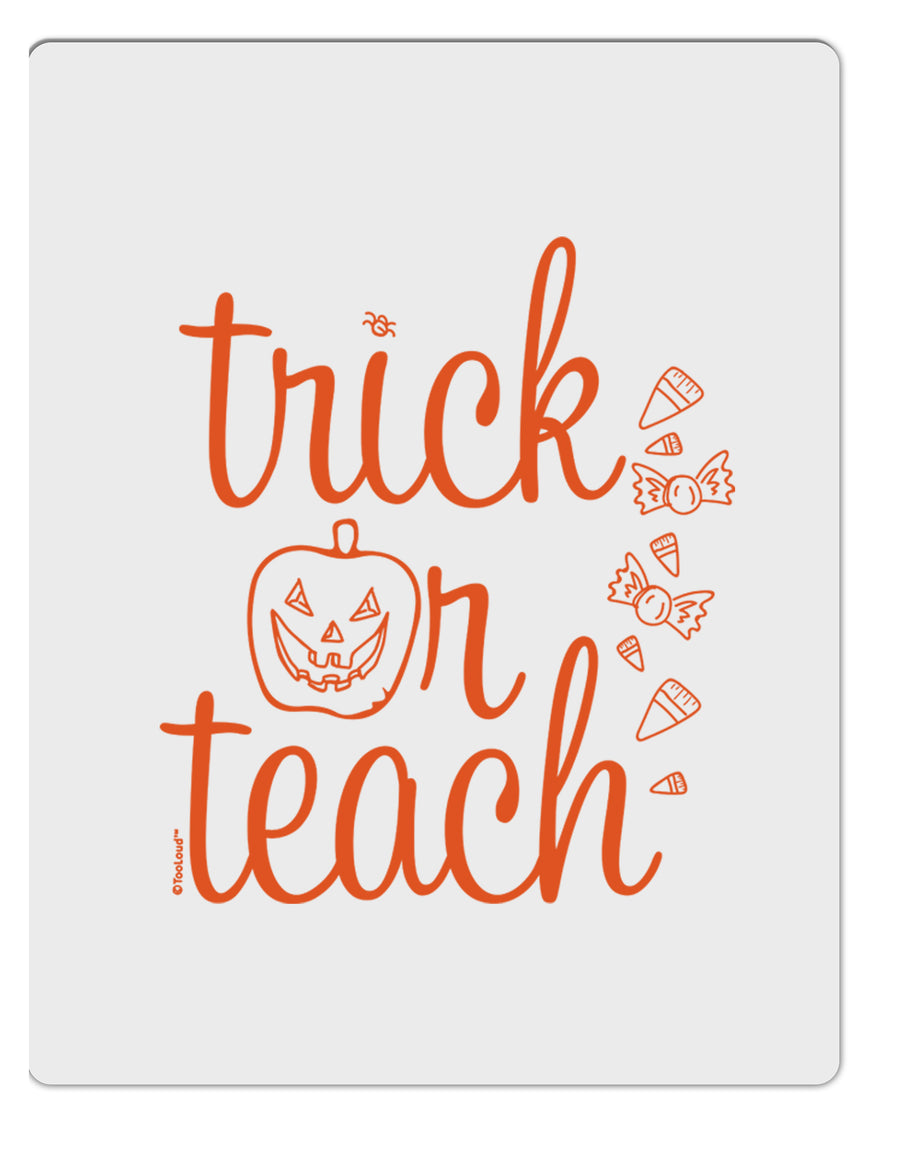 TooLoud Trick or Teach Aluminum Dry Erase Board