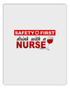 Drink With A Nurse Aluminum Dry Erase Board