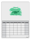 Dinosaur Silhouettes - Jungle Blank Calendar Dry Erase Board by TooLoud