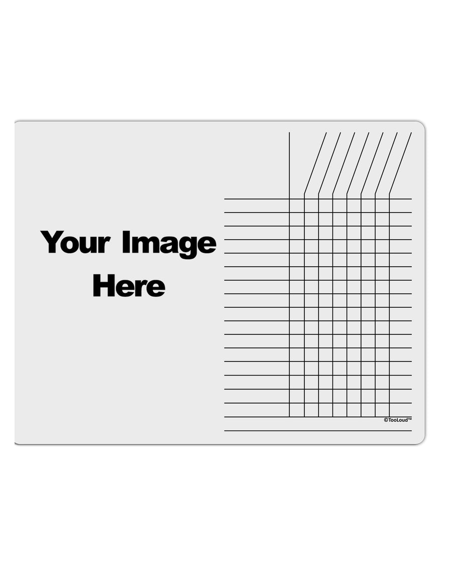 Your Own Image Customized Picture Chore List Grid Dry Erase Board