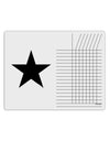 TooLoud Black Star Chore List Grid Dry Erase Board