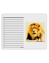 Lion Watercolor 4 To Do Shopping List Dry Erase Board