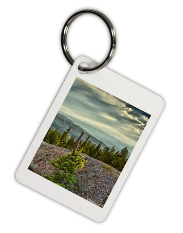 Nature Photography - Pine Kingdom Aluminum Keyring Tag by TooLoud