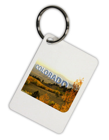 Colorado Postcard Gentle Sunrise Aluminum Keyring Tag by TooLoud
