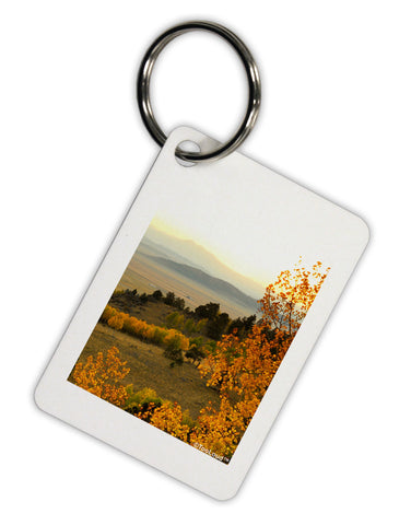 Nature Photography - Gentle Sunrise Aluminum Keyring Tag by TooLoud