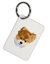 Custom Pet Art Aluminum Keyring Tag by TooLoud