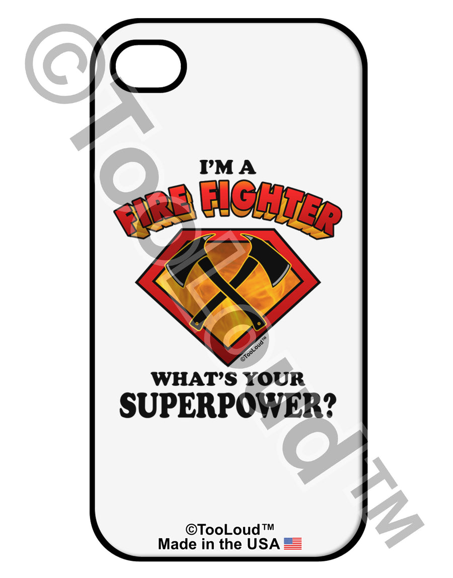 Fire Fighter - Superpower iPhone 4 / 4S Case
