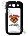 Fire Fighter - Superpower Galaxy S3 Case