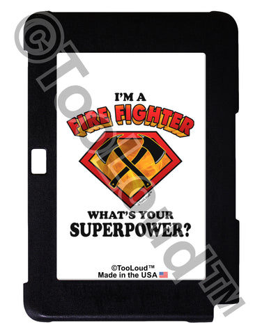 Fire Fighter - Superpower Galaxy Note 10.1 Case