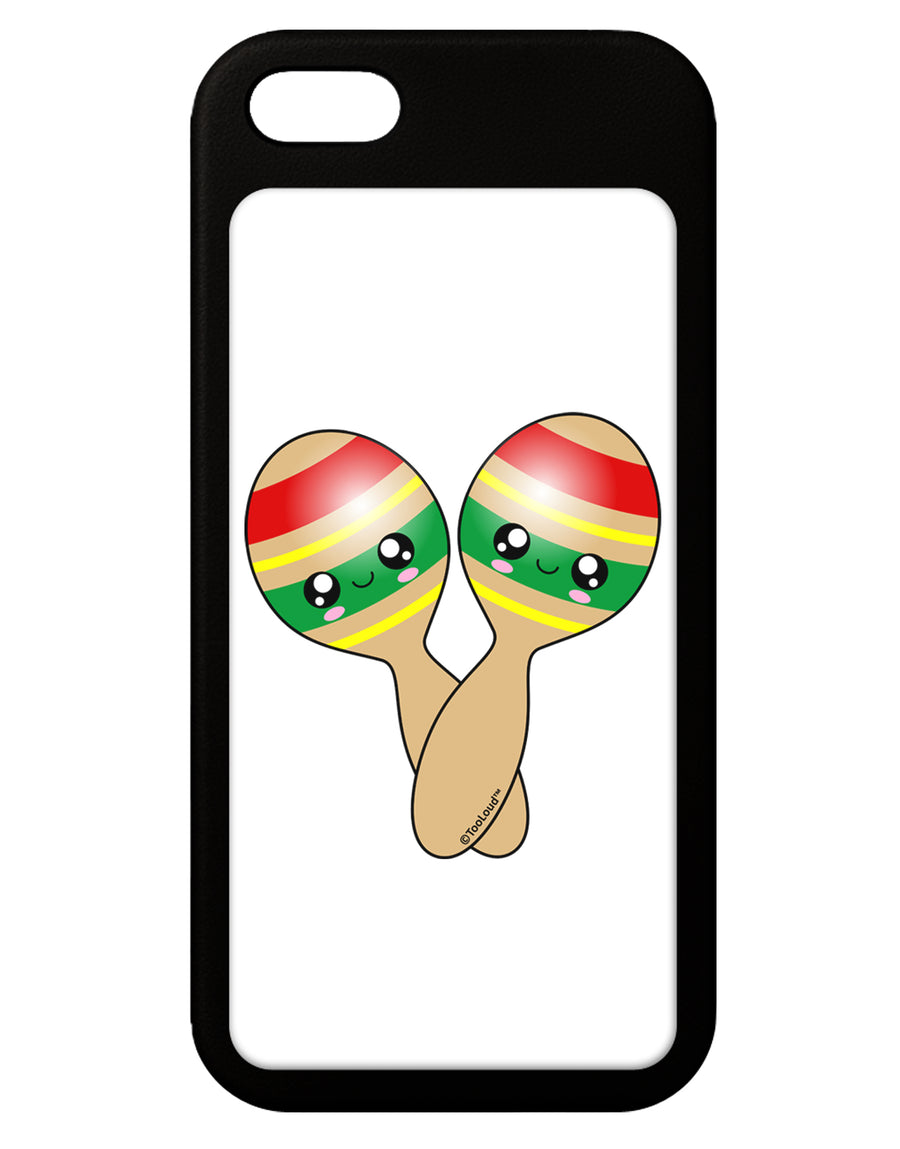 Cute Maracas Design iPhone 5 / 5S Grip Case  by TooLoud