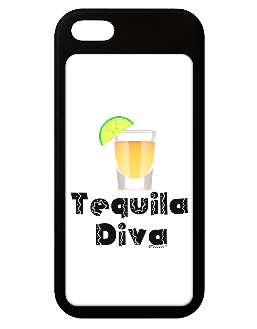 Tequila Diva - Cinco de Mayo Design iPhone 5 / 5S Grip Case  by TooLoud