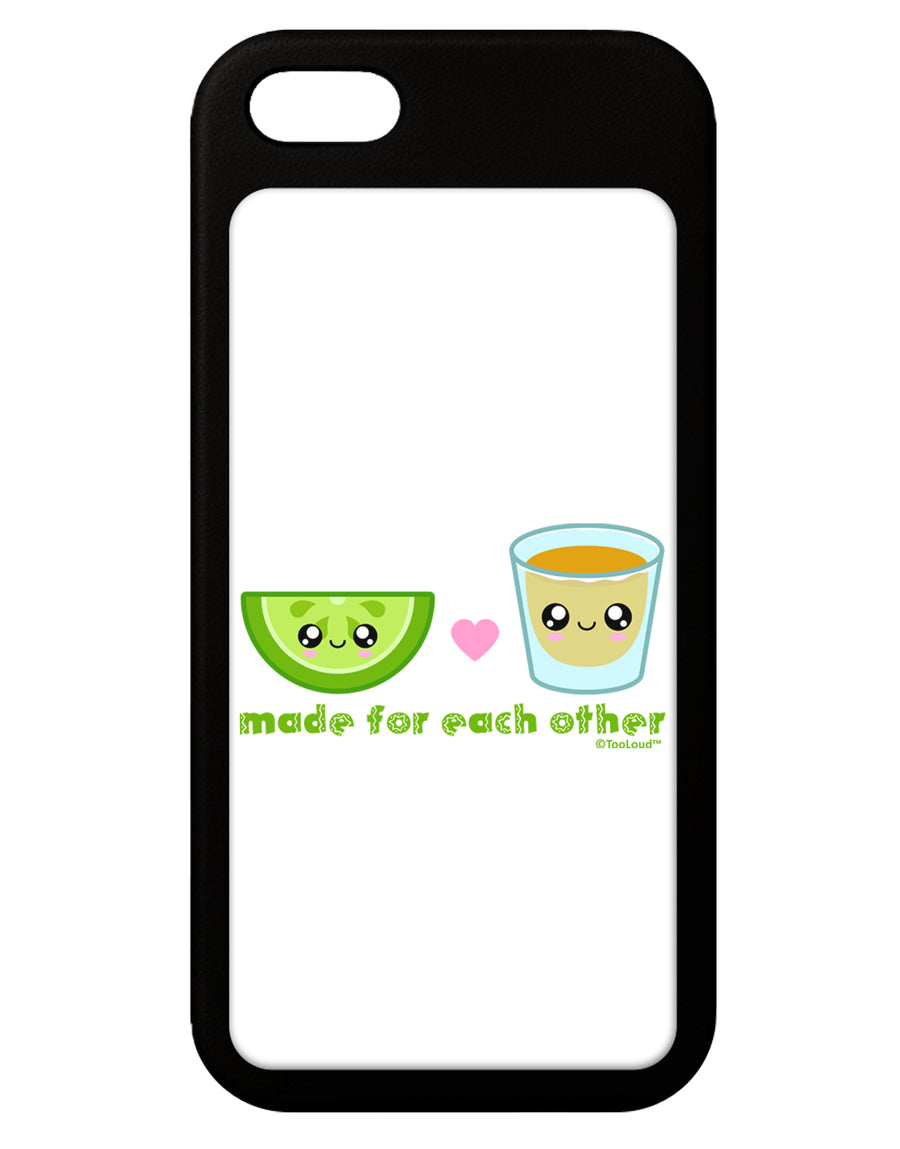 Cute Tequila Shot and Lime - Made For Each Other iPhone 5 / 5S Grip Case  by TooLoud