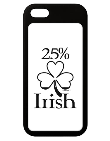 25 Percent Irish - St Patricks Day iPhone 5 / 5S Grip Case  by TooLoud