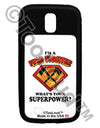 Fire Fighter - Superpower Galaxy S4 Case