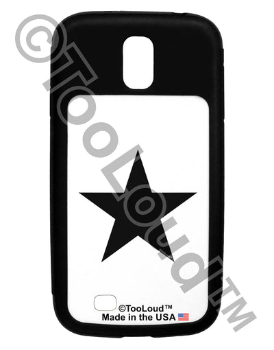 Black Star Galaxy S4 Case  Tooloud