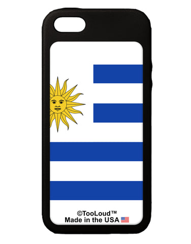 Uruguay Flag AOP iPhone 5C Grip Case  All Over Print Tooloud