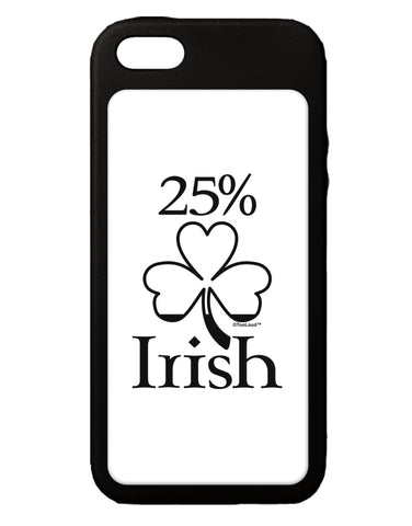 25 Percent Irish - St Patricks Day iPhone 5C Grip Case  by TooLoud