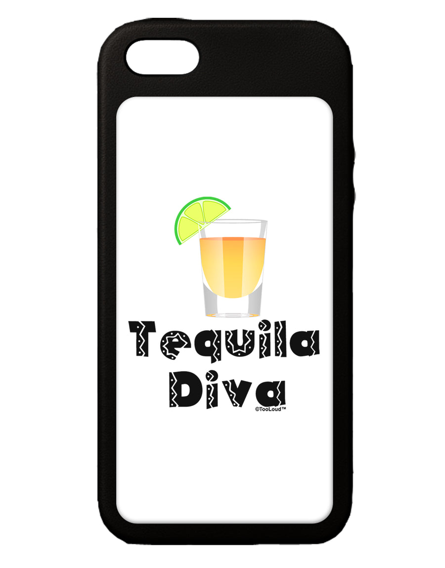 Tequila Diva - Cinco de Mayo Design iPhone 5C Grip Case  by TooLoud