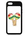 Cute Maracas Design iPhone 5C Grip Case  by TooLoud