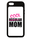 Not A Regular Mom Design iPhone 5C Grip Case  by TooLoud
