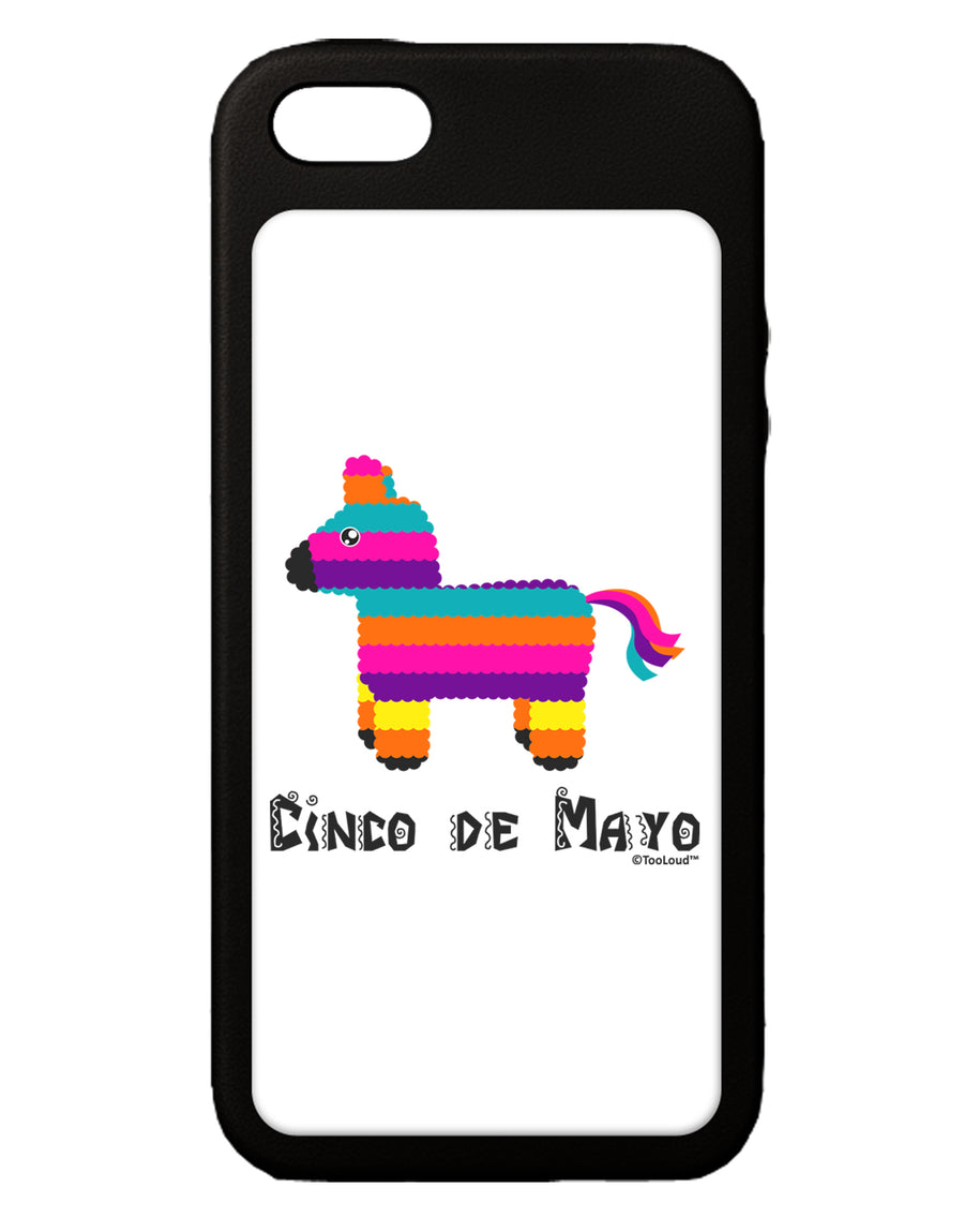 Colorful Pinata Design - Cinco de Mayo iPhone 5C Grip Case  by TooLoud