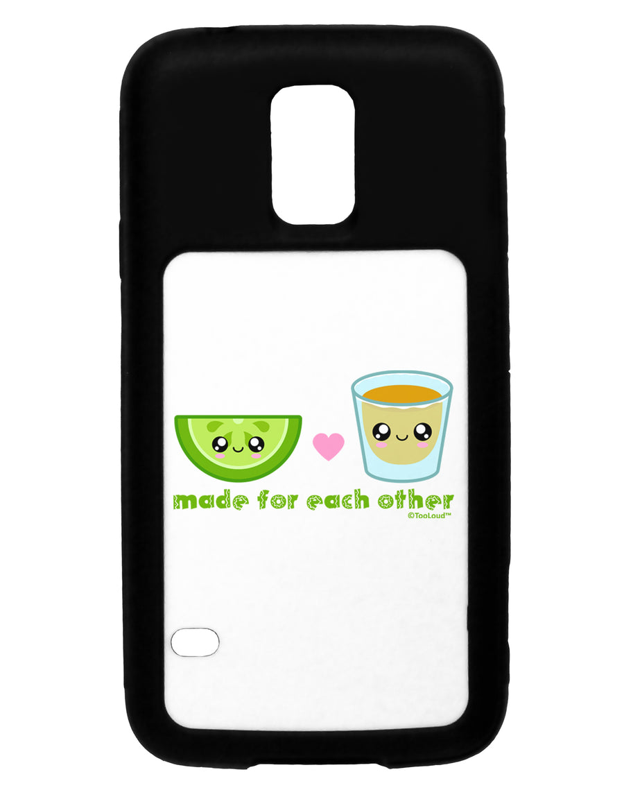 Cute Tequila Shot and Lime - Made For Each Other Black Dauphin iPhone 6 Plus Cover by TooLoud