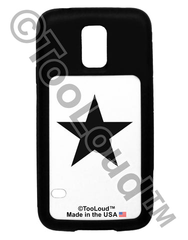 Black Star Galaxy S5 Case  Tooloud