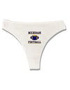 Michigan Football Womens Thong Underwear by TooLoud