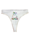 I'm a Unicorn Womens Thong Underwear
