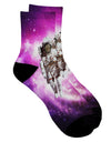 Astronaut Cat AOP Adult Short Socks All Over Print