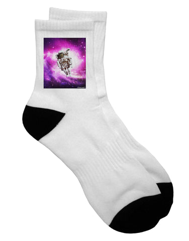 Astronaut Cat Adult Short Socks
