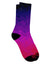 Geometric Gradient AOP Adult Crew Socks All Over Print by TooLoud