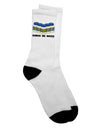 Cinco de Mayo - 5 Mayo Jars Adult Crew Socks  by TooLoud