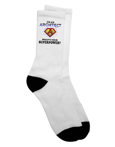 Architect - Superpower Adult Crew Socks