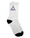 Magic Symbol Adult Crew Socks