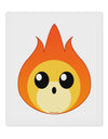 "Cute Fireball Design 9 x 10.5"" Rectangular Static Wall Cling"