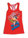 Wonder Woman Lasso Racer Tank Top Juniors