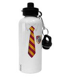 TooLoud Wizard Uniform Red and Yellow Aluminum 600ml Water Bottle All Over Print