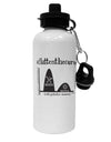 TooLoud Flatten the Curve Graph Aluminum 600ml Water Bottle