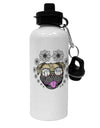 TooLoud Pug Life Hippy Aluminum 600ml Water Bottle