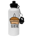 TooLoud To My Pie Aluminum 600ml Water Bottle