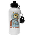 TooLoud Doge to the Moon Aluminum 600ml Water Bottle