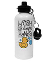 TooLoud Wash your Damn Hands Aluminum 600ml Water Bottle