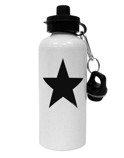 TooLoud Black Star Aluminum 600ml Water Bottle