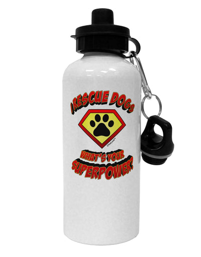 Rescue Dogs - Superpower Aluminum 600ml Water Bottle