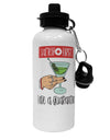 TooLoud Safety First Have a Quarantini Aluminum 600ml Water Bottle